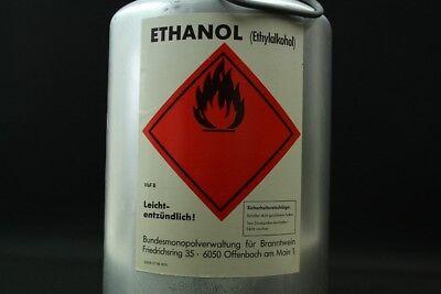 älterer Behälter Ethanol Sicherheitsbehälter Safety Can DEKO 12,5Liter 8