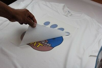 PPD A4 T Shirt Transfer Paper X 10 Sheets Only £6.14 Free P&P 10