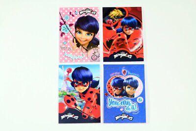Carnets de Notes Blocs Correspondance A6 Miraculous Ladybug Chat Noir au choix