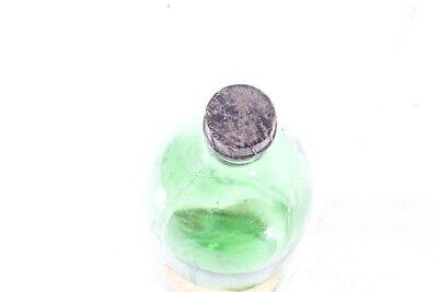 Set 3 Stück alte Glasflaschen Öl Flasche Konvolut Deko Flaschen old vintage Glas 6