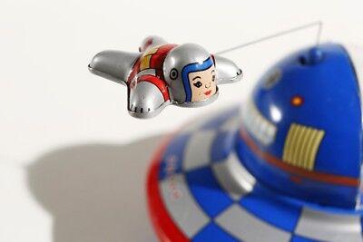 3 Astronauten °° Tin Toy Jouet En Tôle Zu Verkaufen Blechspielzeug Raumschiff M