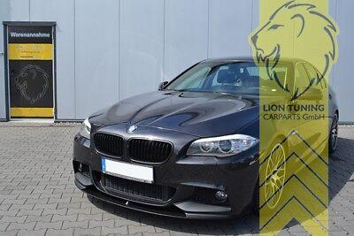 Frontspoiler Spoilerlippe Spoiler für BMW F10 Limousine F11 Touring für M-Paket