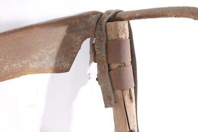 alte Sense Bauer old vintage Werkzeug Deko 8