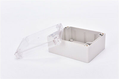 Waterproof 115*90*55MM Clear Cover Plastic Electronic Project Box Enclosure bh 5