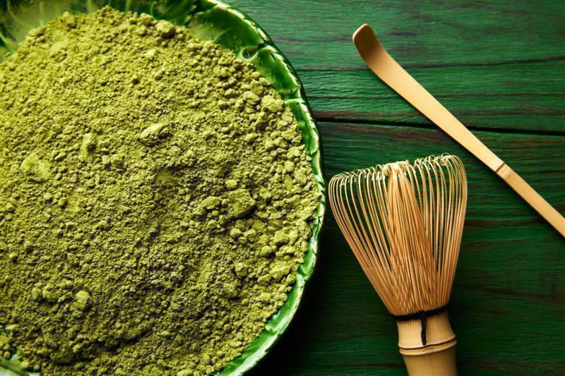 BIO Matcha Tee in Pulverform - grüner Matcha   Grüntee   Tea   Pur   grün 2