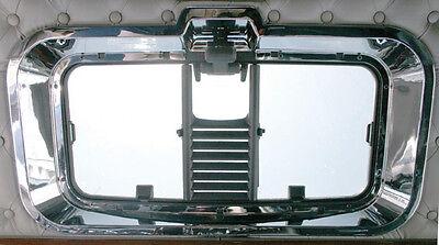 Chrome Speed//Tach Gauge Panel Outer Trim Kenworth W900 T800 T660 C500 2006