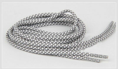 """120cm 48/"""" Rope 3m reflective shoe laces fit for Asics GEL-LyteIII Gray"""