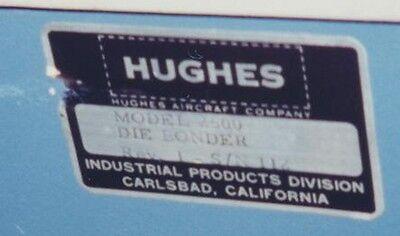 Hughes 2500-2 II Die Bonder S/N 112 3
