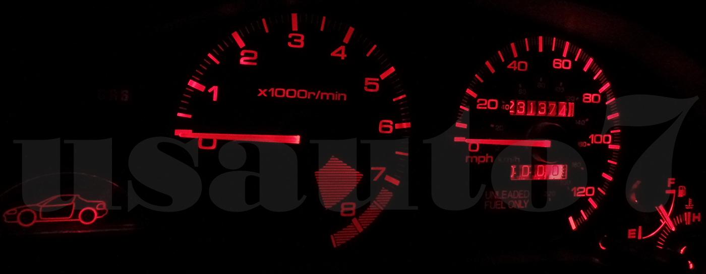8xIce Blue T5 3030-LED 74 17 18 Dash Speedometer Gauge Cluster Light Bulb Canbus