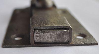 1900s Imperial Russia Interesting Solid Metal Slide Door Lock NICE 4
