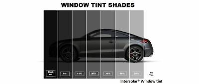 "05 /% Uncut 36/""x 10 Feet Window Tint Film 2 ply 10 yrs warranty Intersolar® USA"