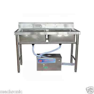 STAINLESS STEEL GREASE Trap Interceptor for Restaurant Kitchen ...