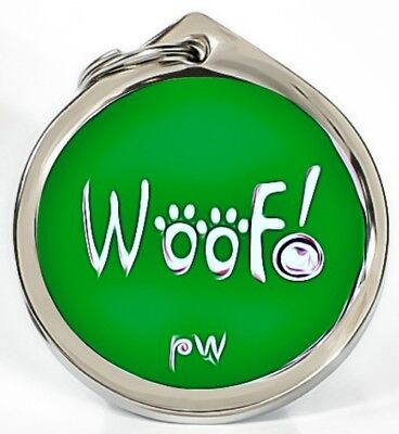 Personalised Engraved Pet ID Collar Tags Cat Dog Various Designs FREE UK DEL 12