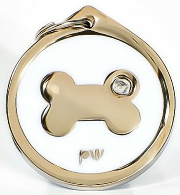 Personalised Engraved Pet ID Collar Tags Cat Dog Various Designs FREE UK DEL 6