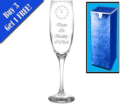 Personalised Engraved Lady and the Tramp Champagne Flute Glass SET of 2////57