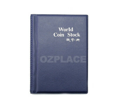 2x 120 Coin Holders Collection Storage Money Penny Pockets Album Book Collecting 3