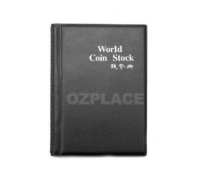 2x 120 Coin Holders Collection Storage Money Penny Pockets Album Book Collecting 4