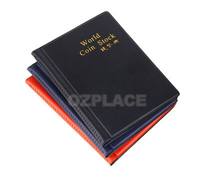 2x 120 Coin Holders Collection Storage Money Penny Pockets Album Book Collecting 5