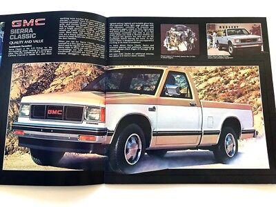 1984 GMC TRUCK S-15 S15 Pickup 30-page Original Sales Brochure Catalog