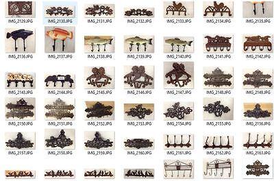Wall Wardrobe 2 x 1 Haken Motif Shield Pears Vintage Wall Türgarderoben & Hook 5
