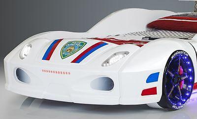 AUTOBETT POLICE LED Scheinwerfer Radbeleuchtung Unterbodenbeleuchtung 90x190