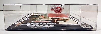 1 Clear Protector For R5-D4 ONLY!  STAR WARS 40TH Anniversary Display Case Box 6