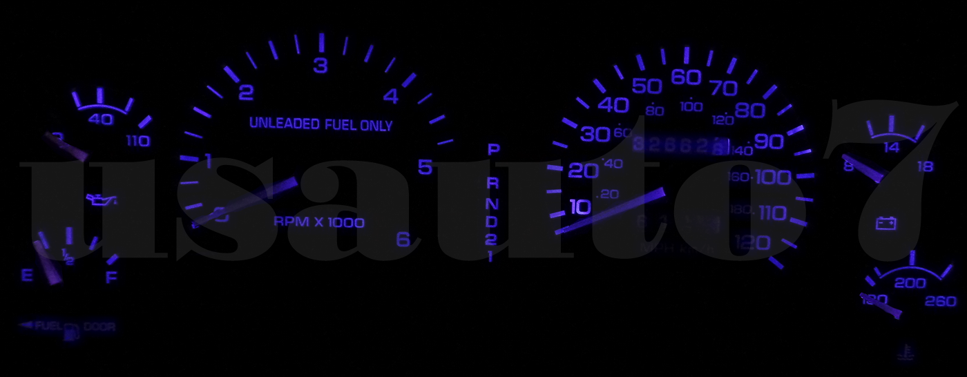Dash Cluster Gauges PINK LED LIGHT BULBS KIT Fits 94-97 Dodge Ram 1500 2500 3500