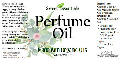 Volcano - Capri Blue Type | Perfume Oil | Made W/ Organic Oils | Alcohol Free 2