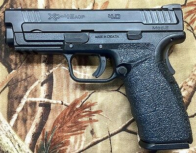 GRAY GRIP TAPE overlay for Springfield XD-45 Mod 2 Service 4 0 & Tactical  5 0
