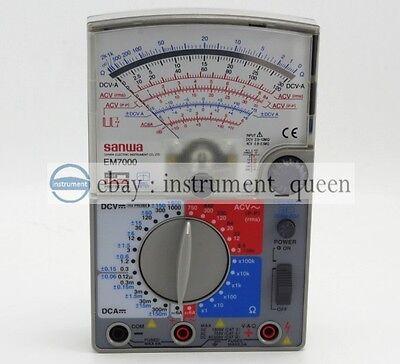 ANALOG MULTIMETER ANALOG Multitesters/FET Tester SANWA EM7000 NEW