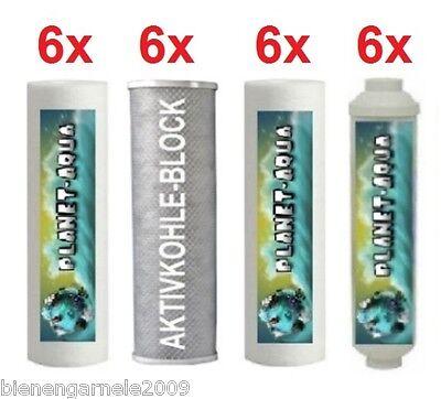 Ersatzfilter SET 3 Jahre 24 Wasserfilter Patronen Umkehrosmose Osmose Anlage 2