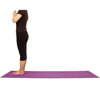 Esterilla para yoga gimnasia Colchoneta de fitness Pilates deporte colchón 10