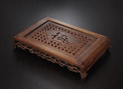 Tea tray wenge wood tea table Rosewood tea table solid wood water holder layers 7