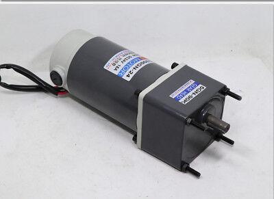 40W 50 rpm Gear Motor Worm Gear Gearbox Worm Gear Reducer RV Motor DC 12V/24V 4