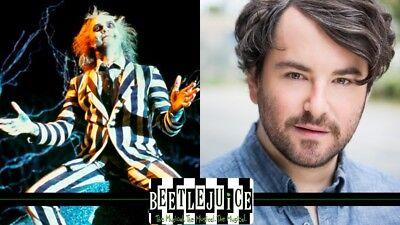 BEETLEJUICE Playbill HALLOWEEN OCTOBER Musical NEW YORK BROADWAY ALEX BRIGHTMAN 4
