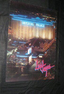 Original IMPERIAL PALACE LAS VEGAS Souvenir Posters 1994 MGM GRAND WATCH US ROAR