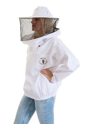 [UK] Buzz Work Wear Beekeeping Pullover Round Veil Tunic & Gloves- Select size