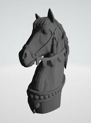 Chess set Arab–Byzantine  3D model  STL model for 3D printer CNC Router carving 6