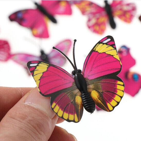 5Pcs/Set Women Girls Butterfly Hair Clips Wedding Pins Party Bride Hairpins 7