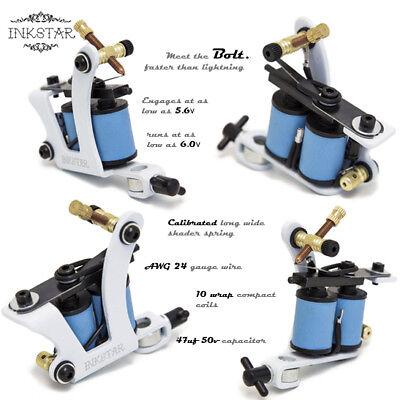 Complete Tattoo Kit Professional Inkstar 5 Machine Ace Set GUN 20 Color Ink 3