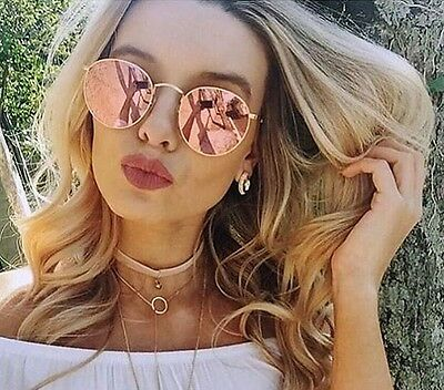 3 of 9 Ray-Ban RB3447 112 Z2 50-21 Round Metal Mirror Copper Flash Pink b2bc76abb88a