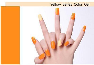 LILYCUTE® Nail Gel Polish UV LED Soak Off Colour Manicure Base No Wipe Top coat 7