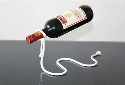 Magic Illusion Floating Lasso Rope Wine Bottle Holder Stand Rack Home Decoration 3