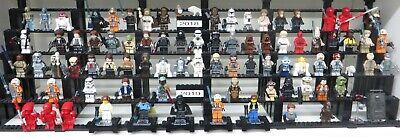 LEGO Star Wars Figuren Sammlung über 900 verschiedene Figuren zum Auswählen  NEU 8