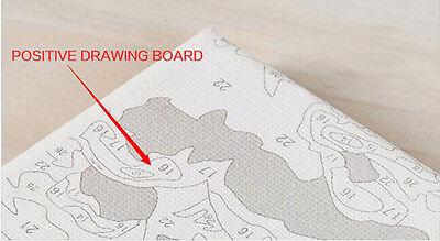Malen nach Zahlen 40 x 50 cm mit Holzrahmen Komplettset  GX8016