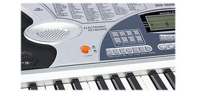 Piano Combo Stand + 61 Keys Electronic keyboard/Electric Piano/Power Adaptor 6