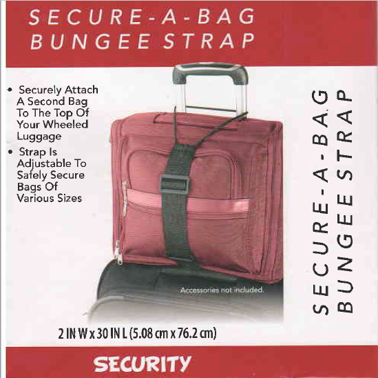Secure-A-Bag Bungee Strap by American Tourister for Carry-Ons Suitcase, Baggage 2