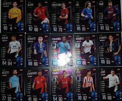 Match Attax Champions League 19 20 limited edition LE15 Sane Club Hero   select 3