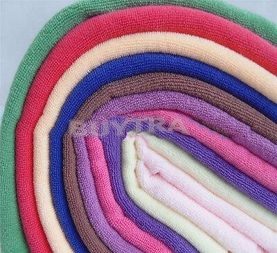 10x microfibre nettoyage chiffon serviette voiturier polissage qqqo* 4