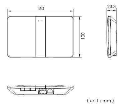 Fingerprint Video Türsprechanlage mit 7″ Monitor (weiß) und WLAN 9
